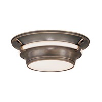Hudson Valley Lighting Ashland 2 Light Flush Mount in Old Bronze 6214-OB