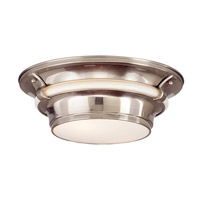 Hudson Valley Lighting Ashland 2 Light Flush Mount in Satin Nickel 6214-SN