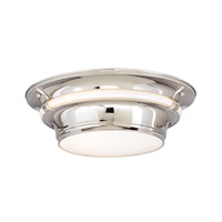 Hudson Valley Lighting Ashland 3 Light Flush Mount in Polished Nickel 6216-PN