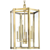 Hudson Valley 6220-AGB Roxbury 6 Light 21 inch Aged Brass Pendant Ceiling Light photo thumbnail