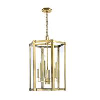 Hudson Valley 6220-DB Roxbury 6 Light 21 inch Distressed Bronze Pendant Ceiling Light
