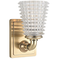 Westbrook 1 Light 5 inch Aged Brass Bath Vanity Wall Light