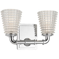 Hudson Valley 6222-PC Westbrook 2 Light 12 inch Polished Chrome Bath Vanity Wall Light