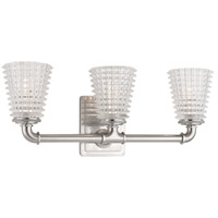 Westbrook 3 Light 20 inch Satin Nickel Bath Vanity Wall Light