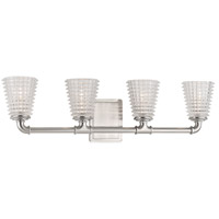 Hudson Valley Lighting Westbrook 4 Light Bath Vanity in Satin Nickel 6224-SN