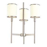 Hudson Valley Lighting Aberdeen 3 Light Chandelier in Polished Nickel 623-PN