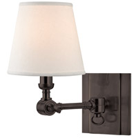 Hudson Valley Lighting Hillsdale 1 Light Wall Sconce in Old Bronze 6231-OB