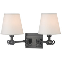 Hillsdale 2 Light 18 inch Old Bronze Wall Sconce Wall Light