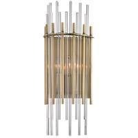 Wallis 2 Light 8 inch Aged Brass Wall Sconce Wall Light
