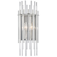 Wallis 2 Light 8 inch Polished Nickel Wall Sconce Wall Light