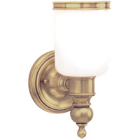 Hudson Valley 6301-AGB Chatham 1 Light 5 inch Aged Brass Bath And Vanity Wall Light