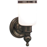 Hudson Valley 6301-DB Chatham 1 Light 5 inch Distressed Bronze Bath And Vanity Wall Light