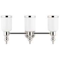 Chatham 3 Light 21 inch Polished Nickel Bath And Vanity Wall Light