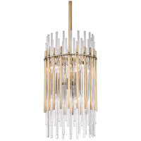 Hudson Valley 6310-AGB Wallis 6 Light 11 inch Aged Brass Pendant Ceiling Light
