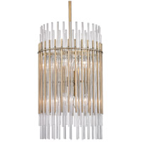Wallis 8 Light 15 inch Aged Brass Pendant Ceiling Light
