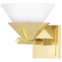 Hudson Valley 6401-AGB Stillwell 1 Light 8 inch Aged Brass Wall Sconce Wall Light