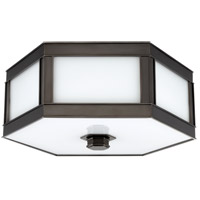 Nassau 1 Light 10 inch Old Bronze Flush Mount Ceiling Light