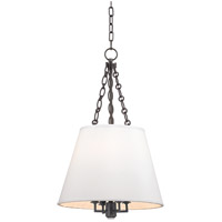 Burdett 4 Light 15 inch Old Bronze Pendant Ceiling Light