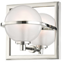 Axiom LED 6 inch Polished Nickel Bath Vanity Wall Light