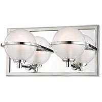 Hudson Valley 6442-PN Axiom LED 12 inch Polished Nickel Bath Vanity Wall Light