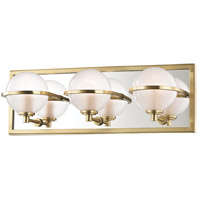 Axiom LED 18 inch Aged Brass Bath Vanity Wall Light