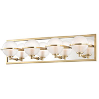 Axiom LED 24 inch Aged Brass Bath Vanity Wall Light