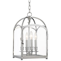 Hudson Valley Lighting Oxford 4 Light Pendant in Polished Nickel 6480-PN