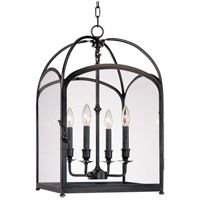 Hudson Valley Lighting Oxford 4 Light Pendant in Old Bronze 6484-OB