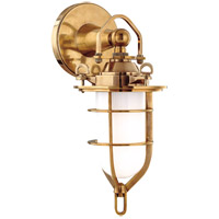 Hudson Valley 6501-AGB New Canaan 1 Light 7 inch Aged Brass Bath And Vanity Wall Light