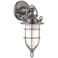 New Canaan 1 Light 7 inch Antique Nickel Bath And Vanity Wall Light