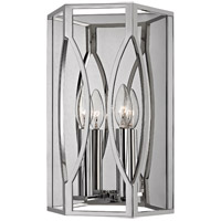 Roswell 2 Light 9 inch Polished Nickel Wall Sconce Wall Light