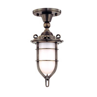 Hudson Valley Lighting New Canaan 1 Light Semi Flush in Old Bronze 6511-OB