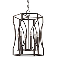 Hudson Valley Lighting Roswell 6 Light Pendant in Old Bronze 6517-OB