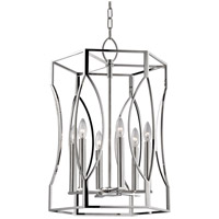 Hudson Valley Lighting Roswell 6 Light Pendant in Polished Nickel 6517-PN