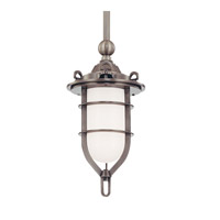Hudson Valley Lighting New Canaan 1 Light Pendant in Antique Nickel 6521-AN
