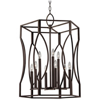 Hudson Valley Lighting Roswell 9 Light Pendant in Old Bronze 6523-OB