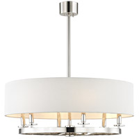 Durham 6 Light 31 inch Polished Nickel Pendant Ceiling Light