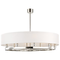 Durham 10 Light 42 inch Polished Nickel Pendant Ceiling Light
