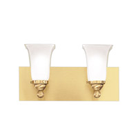 Hudson Valley Lighting Symphony 2 Light Bath And Vanity in Satin Brass 6602-SB photo thumbnail