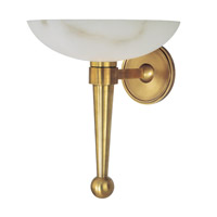 Hudson Valley Lighting Tuckahoe 1 Light Wall Sconce in Aged Brass 660A-AGB