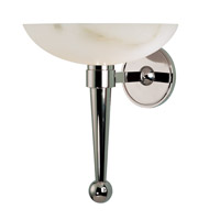 Hudson Valley Lighting Tuckahoe 1 Light Wall Sconce in Polished Nickel 660A-PN