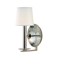 Hudson Valley Lighting Porter 1 Light Wall Sconce in Polished Nickel 6611-PN