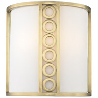 Hudson Valley 6700-AGB Infinity 2 Light 10 inch Aged Brass Wall Sconce Wall Light
