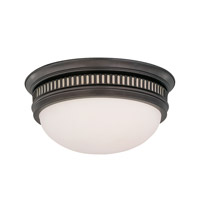 Hudson Valley Lighting Lockport 2 Light Flush Mount in Old Bronze 6713-OB