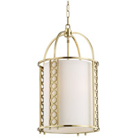 Hudson Valley 6714-AGB Infinity 4 Light 14 inch Aged Brass Pendant Ceiling Light
