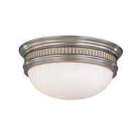 Hudson Valley Lighting Lockport 3 Light Flush Mount in Satin Nickel 6715-SN