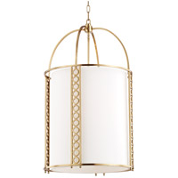 Hudson Valley 6720-AGB Infinity 8 Light 20 inch Aged Brass Pendant Ceiling Light