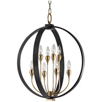 Dresden 8 Light 22 inch Aged Old Bronze Chandelier Ceiling Light