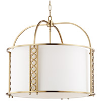 Hudson Valley 6724-AGB Infinity 8 Light 24 inch Aged Brass Pendant Ceiling Light
