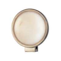 Hudson Valley Lighting Ingram 1 Light Wall Sconce in Historic Nickel 681-HN photo thumbnail